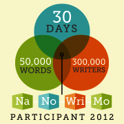 National Writers Month Participant Badge